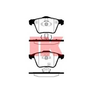 Комплект тормозных колодок, дисковый тормоз 224826 nk - VOLVO XC90 универсал 2.5 T