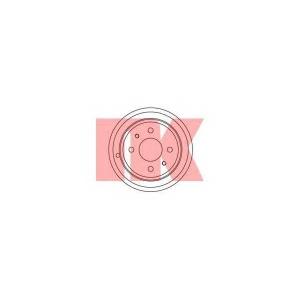 Тормозной барабан 252309 nk - FIAT TIPO (160) Наклонная задняя часть 1.4 i.e. (160.AP, 160.AD, 160.EA)
