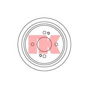 NK 252608 Тормозной барабан