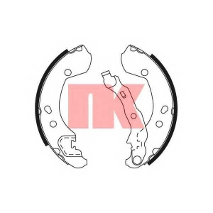 Комплект тормозных колодок 2722693 nk - RENAULT MODUS (F/JP0_) Наклонная задняя часть 1.2