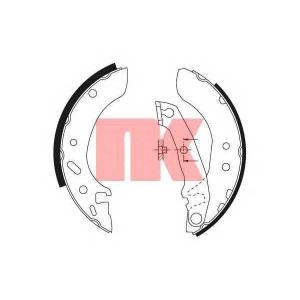 Комплект тормозных колодок 2725586 nk - FORD ESCORT VII (GAL, AAL, ABL) Наклонная задняя часть 1.6 16V 4x4