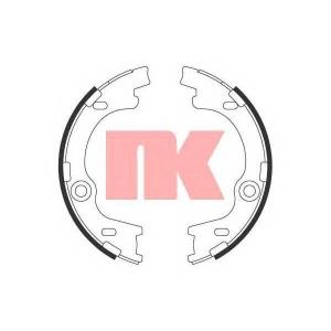 Комплект тормозных колодок, стояночная тормозная с 2734790 nk - KIA CEE'D Наклонная задняя часть (ED) Наклонная задняя часть 1.6