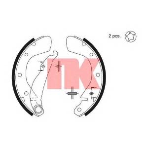 Комплект тормозных колодок 2736539 nk - VAUXHALL ASTRA Mk IV (G) Наклонная задняя часть Наклонная задняя часть 1.6