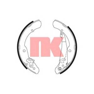NK 2743631 Тормозные колодки барабанные к-т  Seat/Skoda/VW 95-