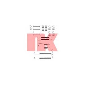 Комплектующие, тормозная колодка 7936629 nk - OPEL VECTRA A Наклонная задняя часть (88_, 89_) Наклонная задняя часть 1.6 i KAT