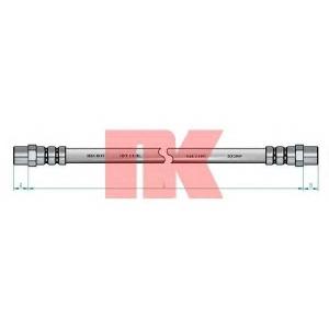 NK 853317 Шланг гальмівний