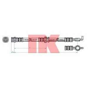 853639 nk Тормозной шланг OPEL FRONTERA вездеход закрытый 2.3 TD (5JMWL4)