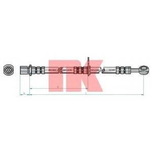 NK 854414 Шланг тормозной