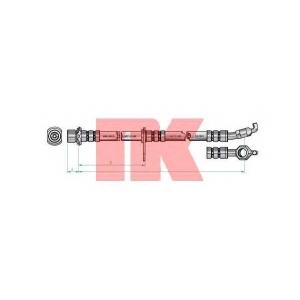 NK 8545116 Тормозной шланг
