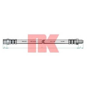 Тормозной шланг 854706 nk - AUDI 80 (80, 82, B1) седан 1.3