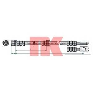 NK 8547130 Шланг гальмівний передній