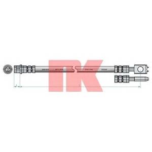 NK 854775 Шланг тормозной  Seat/VW 91-