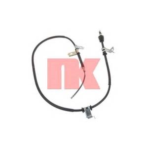 Трос, стояночная тормозная система 903437 nk - HYUNDAI GETZ (TB) Наклонная задняя часть 1.5 CRDi