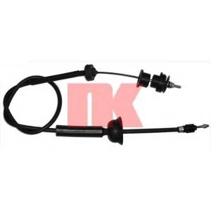 NK 923720 Трос сцепления 405 1365mm (длинный под КПП)