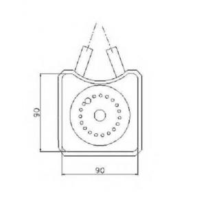 NRF 31305 Охладитель масла двигателя