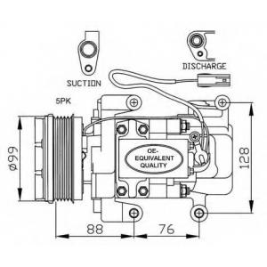 NRF 32234 Компрессор кондиционера