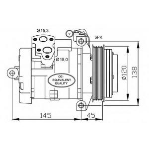 NRF 32698 Компрессор кондиционера