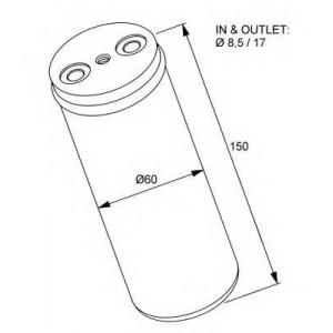 NRF 33233 Осушувач кондиціонера