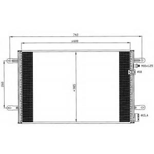 NRF 35605 Радіатор кондиціонера