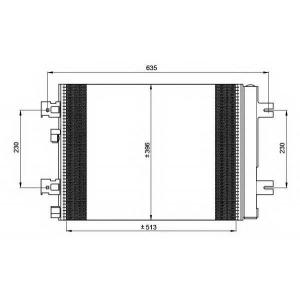 NRF 35947 Радіатор кондиціонера