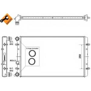 NRF 509529 Радиатор охлаждения двигателя EASY FIT