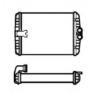 NRF 53552 Радиатор печки