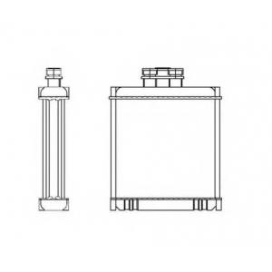 NRF 53558 Радиатор отопителя