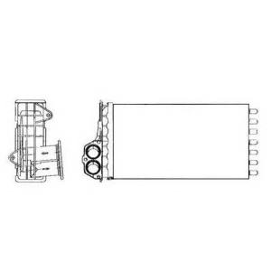 NRF 53634 Радиатор отопителя