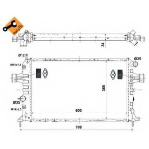 NRF 58178 Радіатор