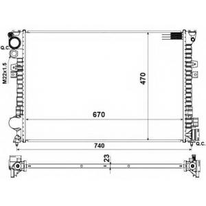 NRF 58958 Радиатор Jumpy/Scudo/Expert