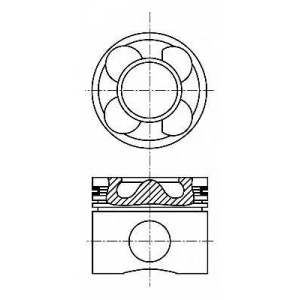 NURAL 87-102900-10 Piston