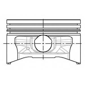 NURAL 87-104200-40 Поршень RENAULT/DACIA 79,50 K7J 1,4 8V 03- (пр-во NURAL)