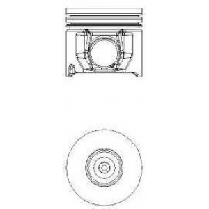 Поршень, комплект FORDTransit 2,4 Di TDI 00- 8711350010 nural -