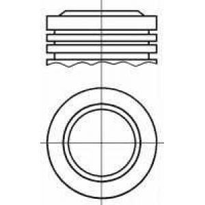 8713940000 nural Поршень PEUGEOT 308 Наклонная задняя часть 1.6 BioFlex