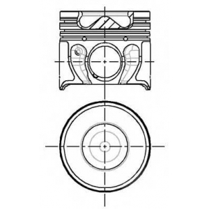 8714080710 nural Поршень FORD MONDEO седан 2.0 16V DI / TDDi / TDCi