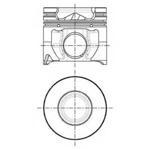 8714810010 nural Поршень FORD TRANSIT c бортовой платформой/ходовая часть 2.4 TDCi