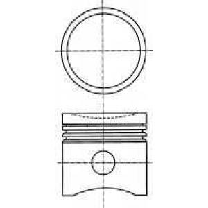8715420830 nural Поршень FIAT TIPO Наклонная задняя часть 1.1 (160.AA)