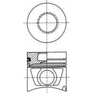 NURAL 87-179300-40 Piston