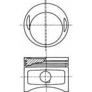 8717971100 nural Поршень MERCEDES-BENZ седан (W123) седан 230 E (123.223)