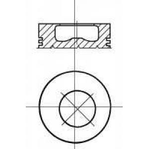 NURAL 87-207200-00 Piston