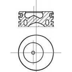 NURAL 87-207800-10 Piston