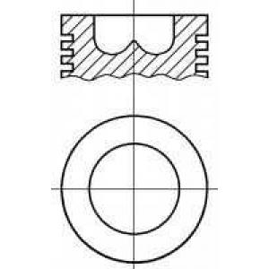 8724520830 nural Поршень FIAT DUCATO c бортовой платформой/ходовая часть 2.5 TD