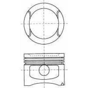 NURAL 87-501800-10 Piston