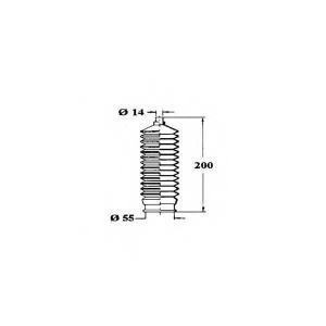 OCAP 1211192 Комплект пылника, рулевое управление