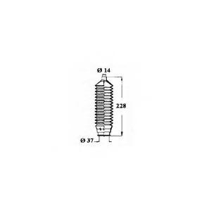 OCAP 1211205 Пыльник рулевой рейки Ford Ka RBT 1.3 i 6935233