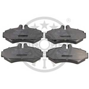 OPTIMAL 10403 Гальмівні колодки дискові зад. DB/VW/Vario/Sprinter/VW LT