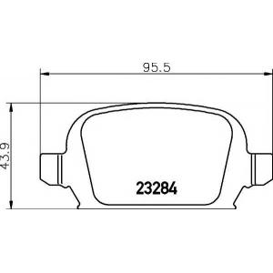 PAGID T5143 Тормозные колодки