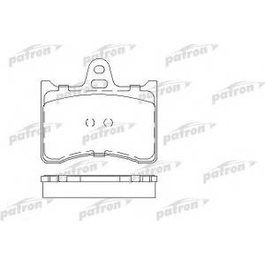 PATRON PBP196 Комплект тормозных колодок, дисковый тормоз Ситроен Cx Брейк