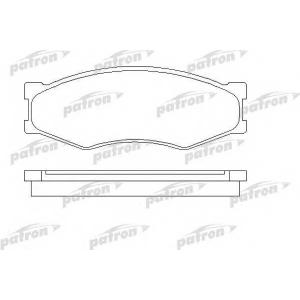 PATRON PBP340 Комплект тормозных колодок, дисковый тормоз Инфинити