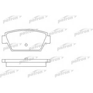 PATRON PBP507 Комплект тормозных колодок, дисковый тормоз Исузу Мидиан